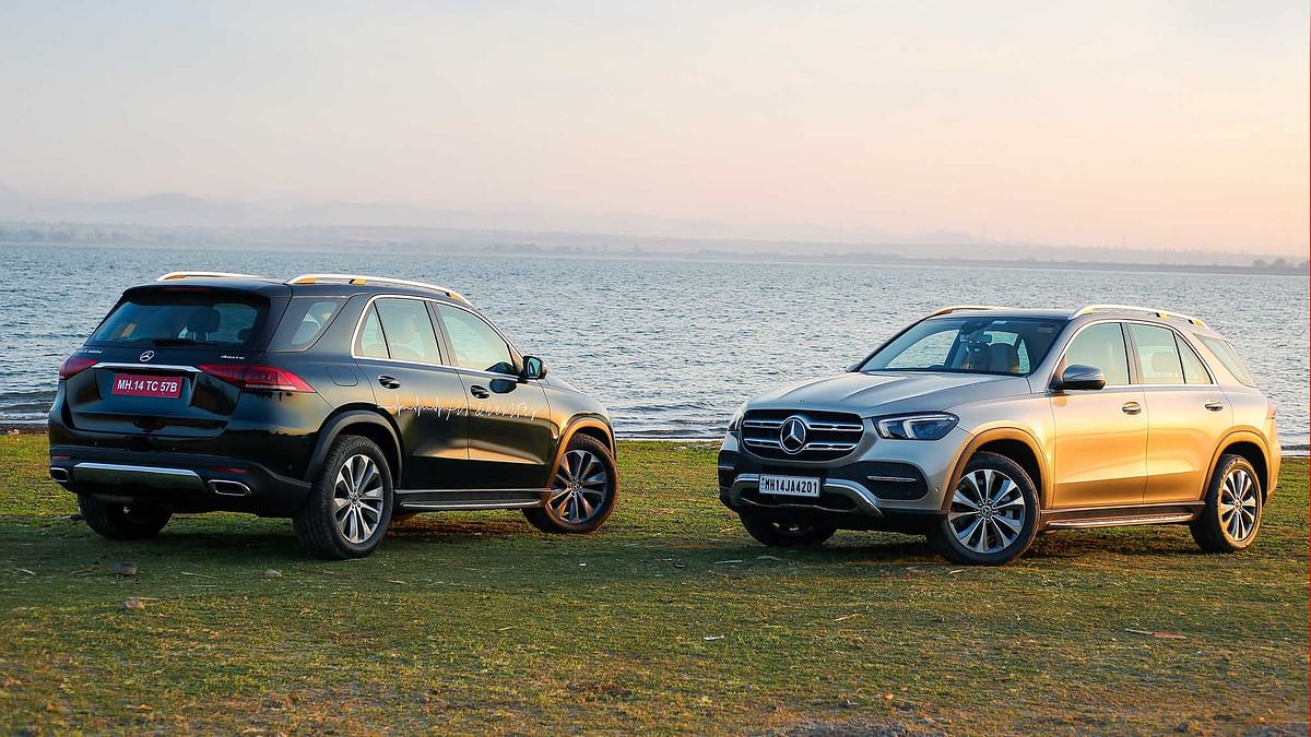 Mercedes-Benz GLE 300d & GLE 400d First Drive Review
