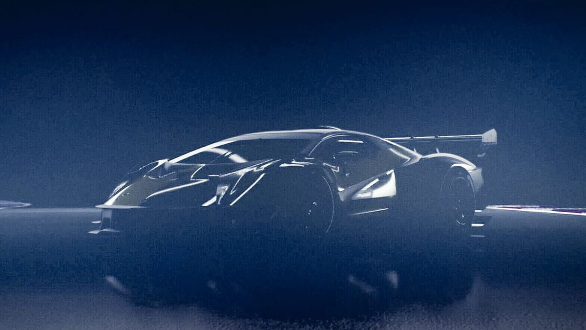 Lamborghini teases upcoming track-only hypercar