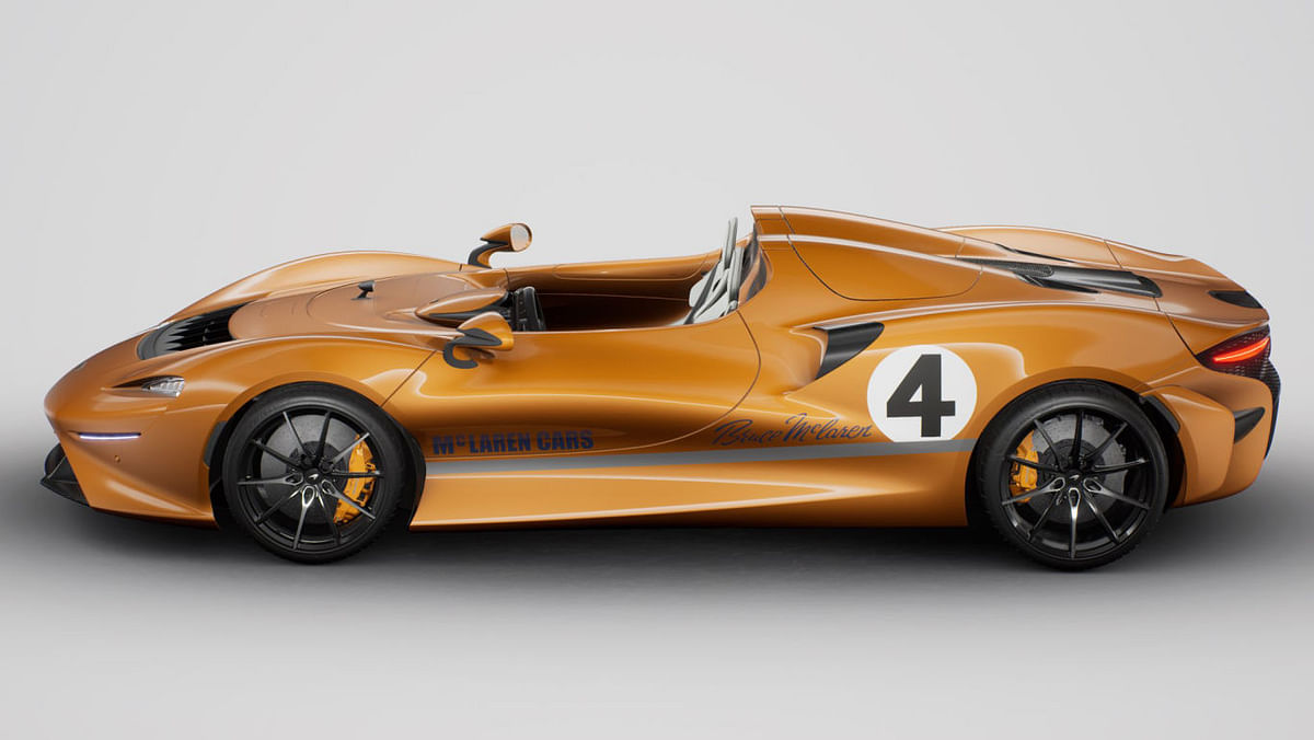 Powering the Elva is an 804-horsepower version of the 4.0-litre twin-turbocharged V-8 found in both the 720S and Senna.