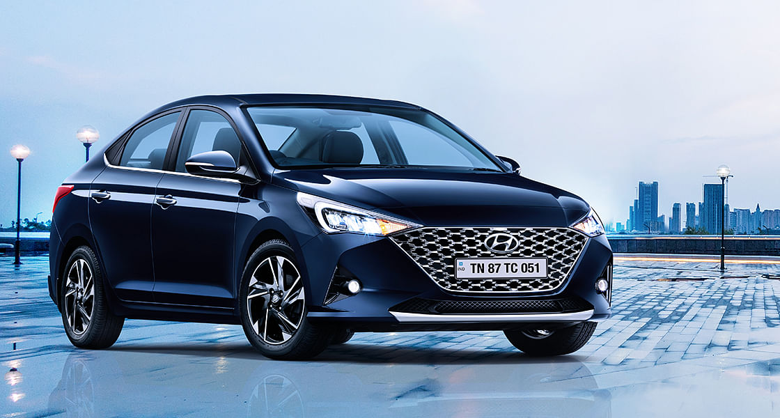 The Hyundai Verna facelift gets subtle changes inside and out