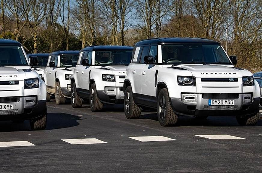 Land Rover puts Defender to work for Red Cross