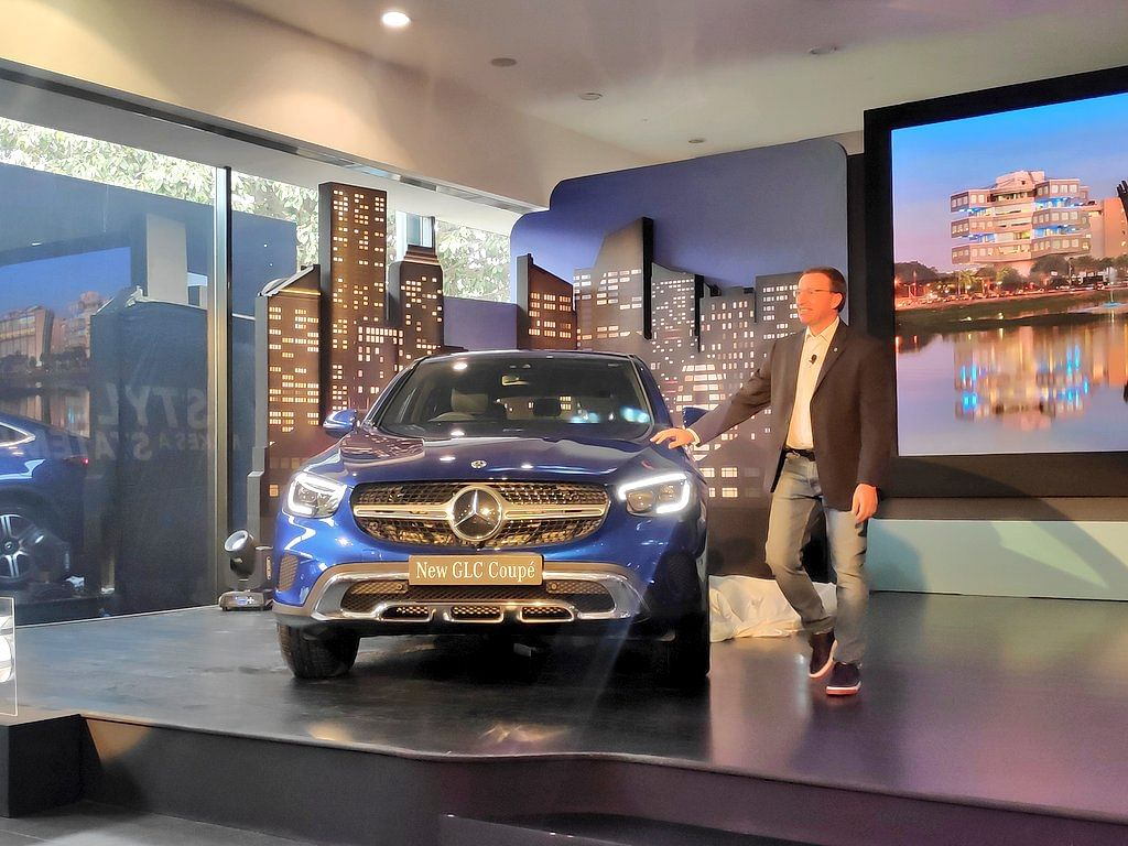 Mercedes-Benz launch the 2020 GLC coupe SUV at Rs 62.70 lakh