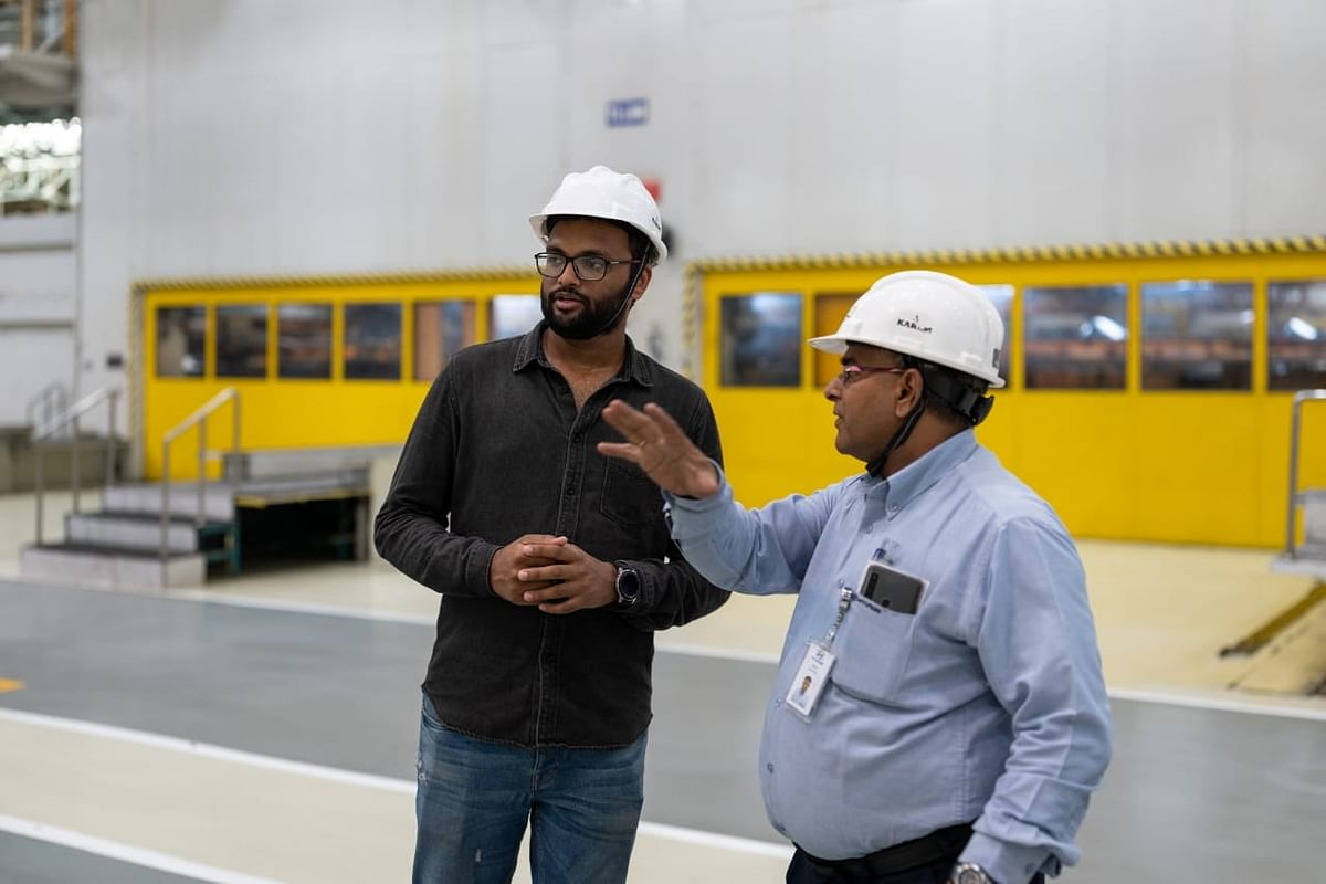 Hyundai engineers at the spot told me, was to ensure that by the time production begins, the panels are created with a very high dimensional accuracy