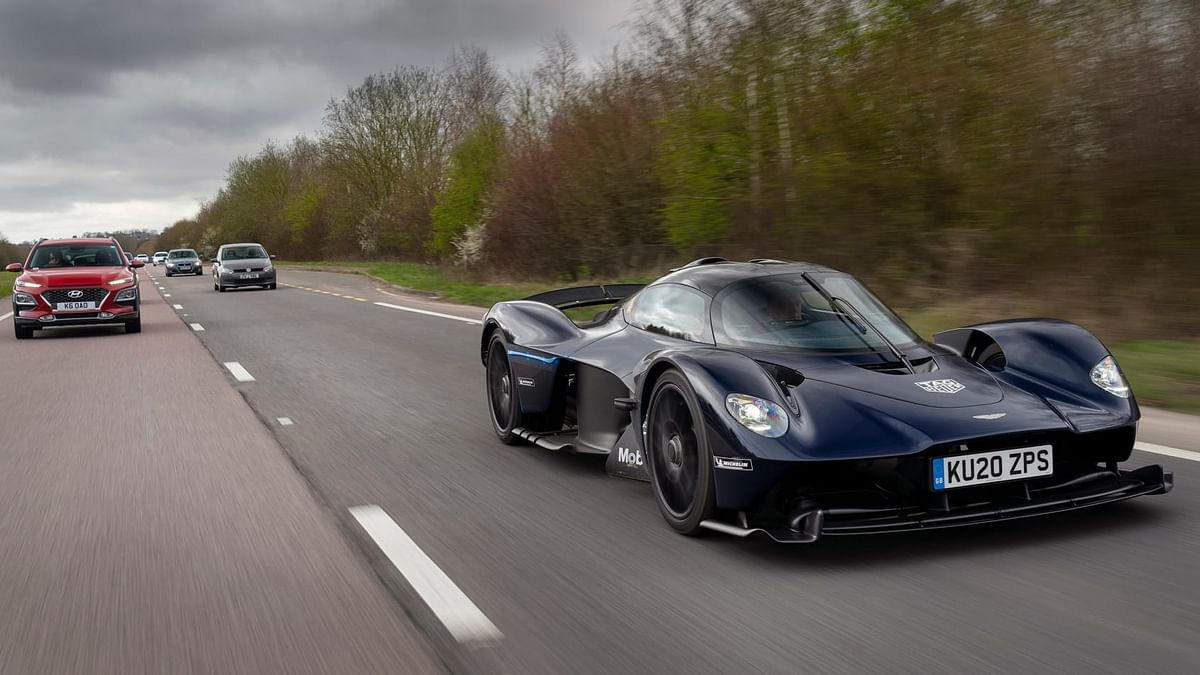 Ahead of first scheduled deliveries the hypercar has hit public roads for the very first time.