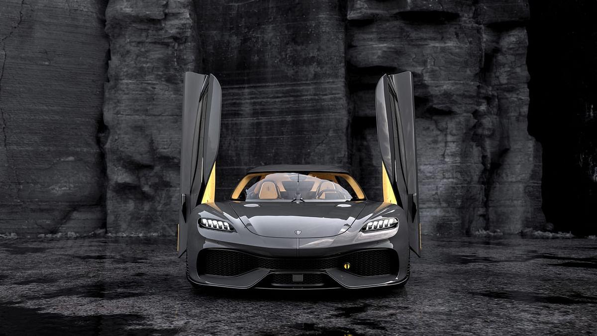 2-litre, three-cylinder twin-turbocharged petrol unit