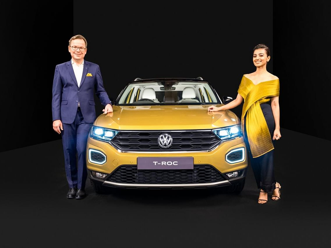 Volkswagen T-Roc launched at Rs 19.99 lakh | To rival the Jeep Compass and upcoming Skoda Karoq