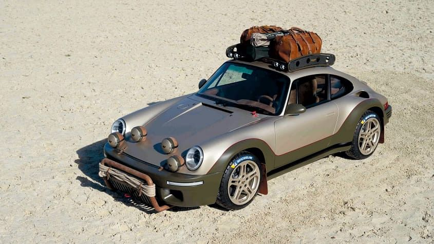 RUF Rodeo Concept revealed as off-road Porsche 911