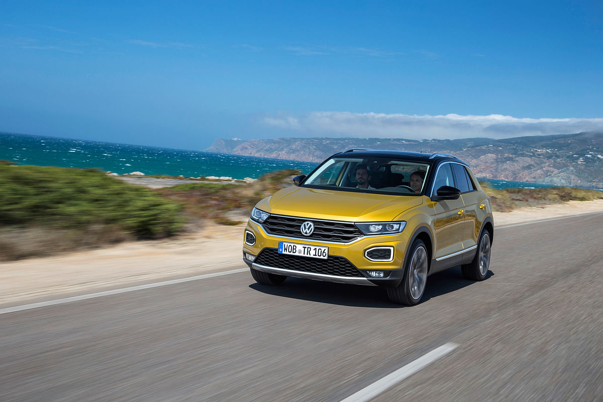 Road-presence - doesn't look like VW's new SUV is short of it