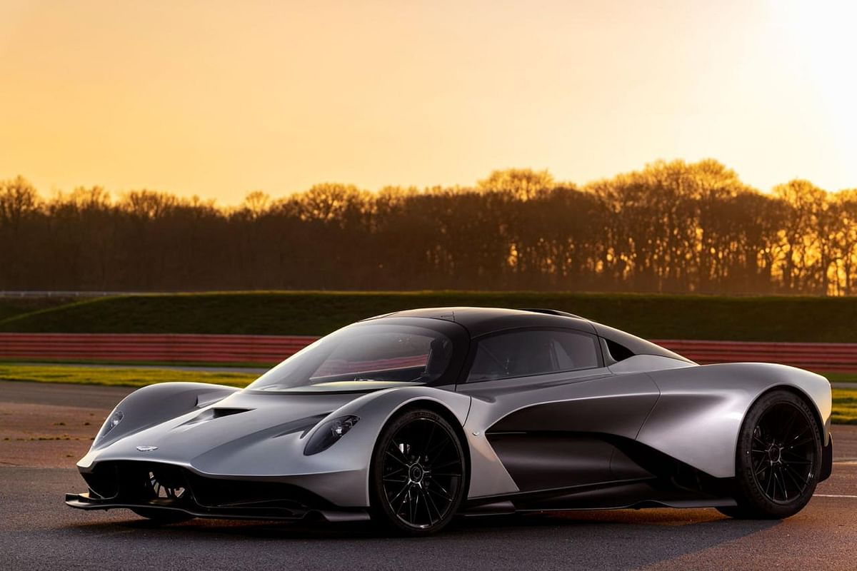 The car is a design concept of Aston Martin co-developed with Red Bull Racing