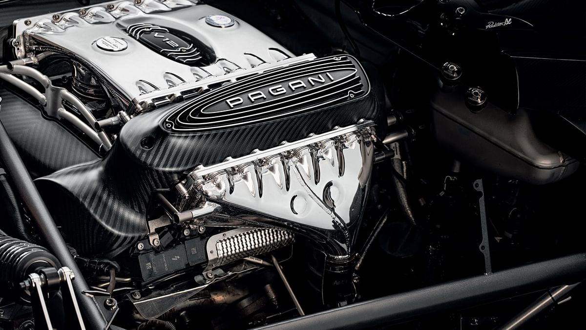 6-litre twin-turbocharged V12 engine