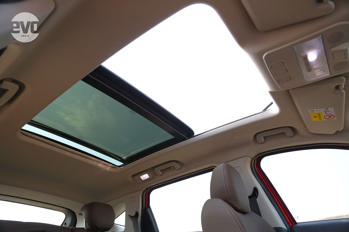 Tata Motors have listened to their customers and given the Harrier the largest sunroof in its class.