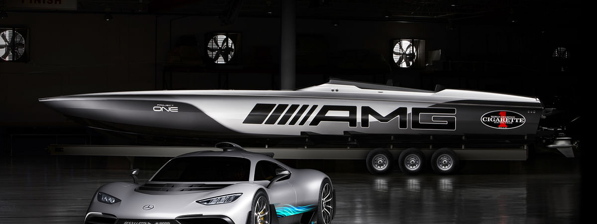 The Mercedes-AMG Project One is powered by an F1 engine