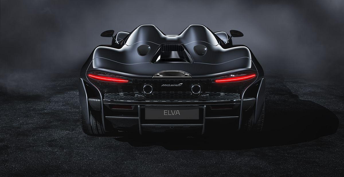 McLaren Elva rear