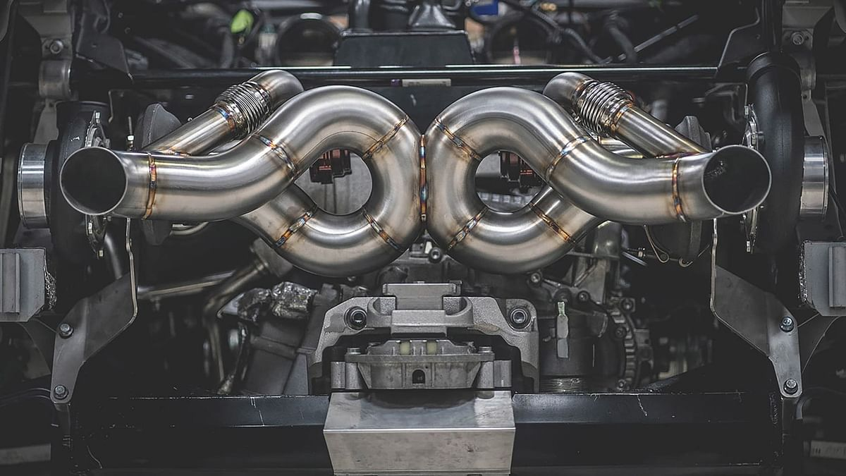 AMS Performance Lamborghini Huracan Performante engine