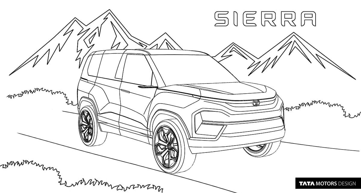 Tata Sierra concept EV