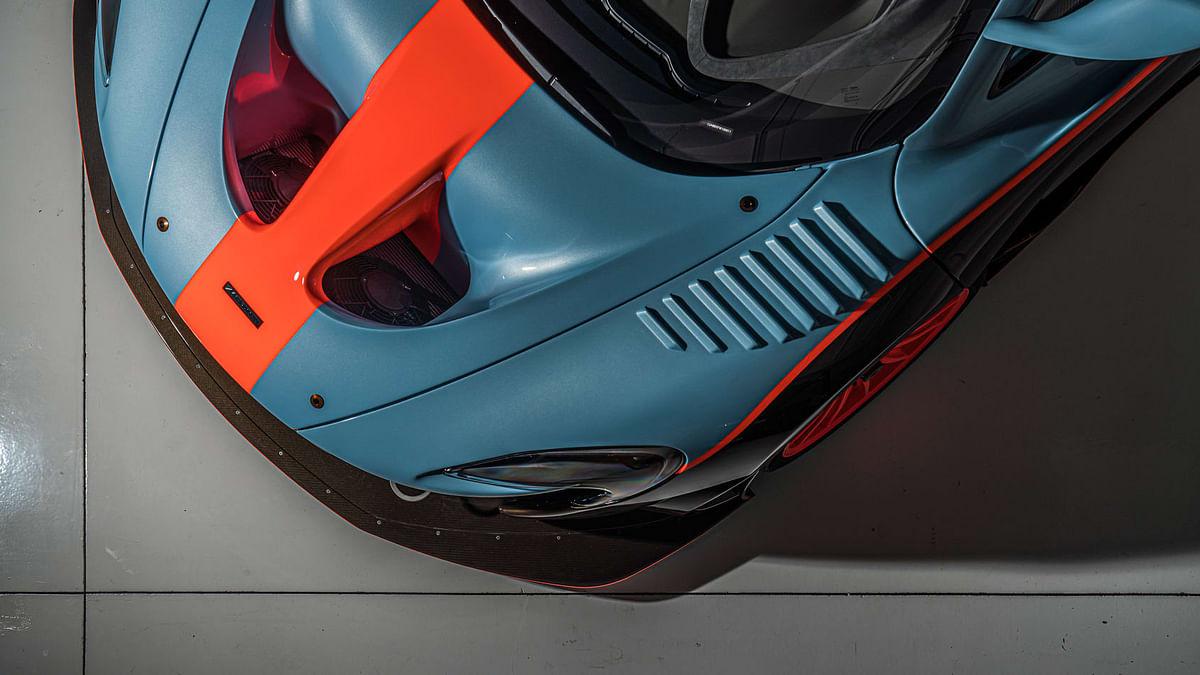 Lanzante McLaren P1 GTR-18, louvres