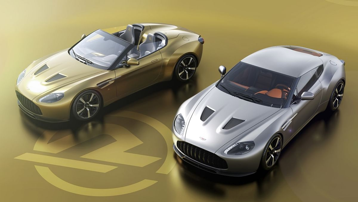 Aston Martin V12 Zagato Speedster and Coupe back on sale!