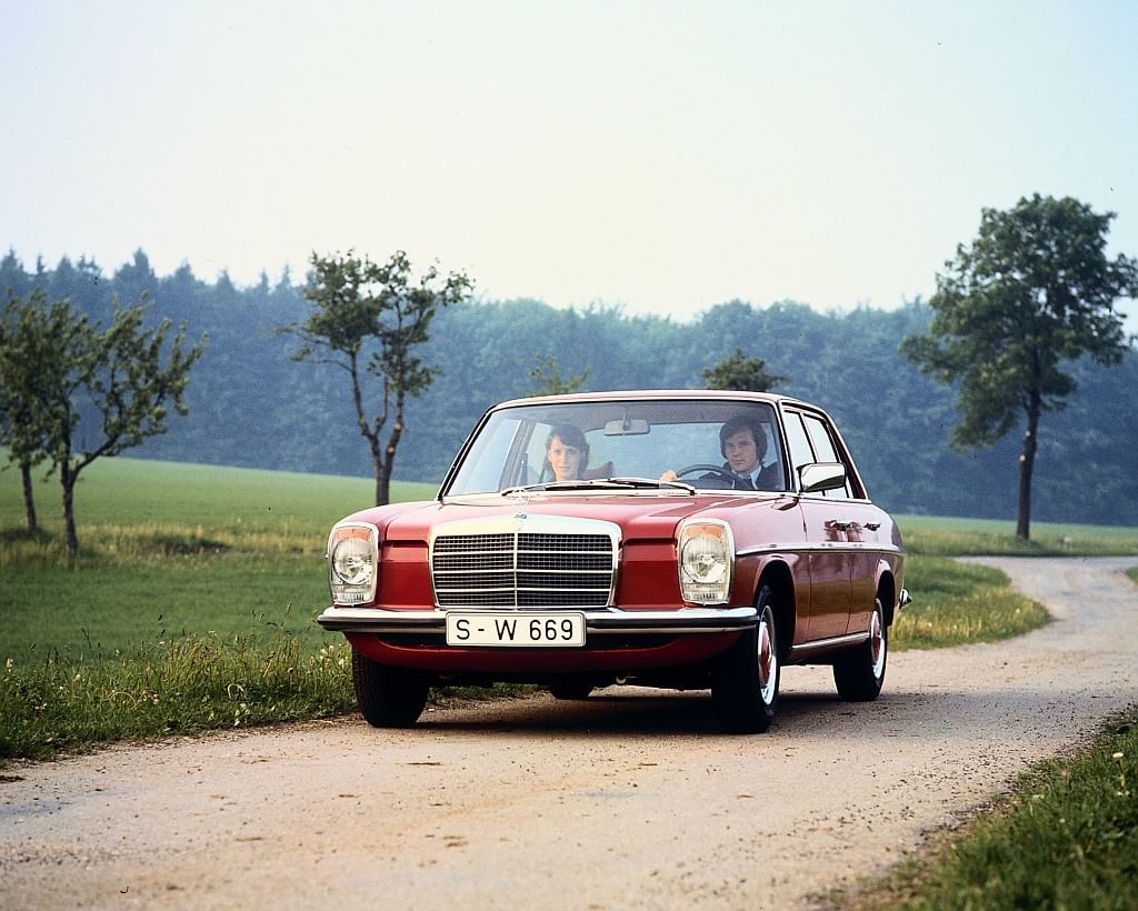 Mercedes-Benz sold two million W 115 and 114 series cars
