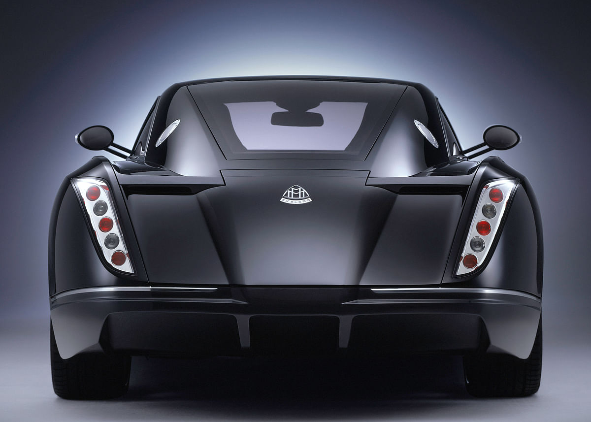 Teardrop shaped rear  was in pursuit of aerodynamic efficiency