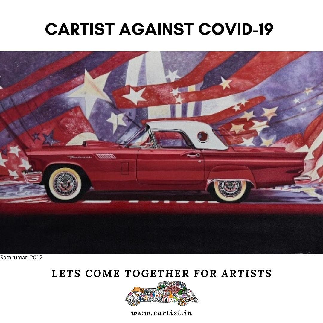 Cartist to hold an art auction to fight the COVID19 Pandemic