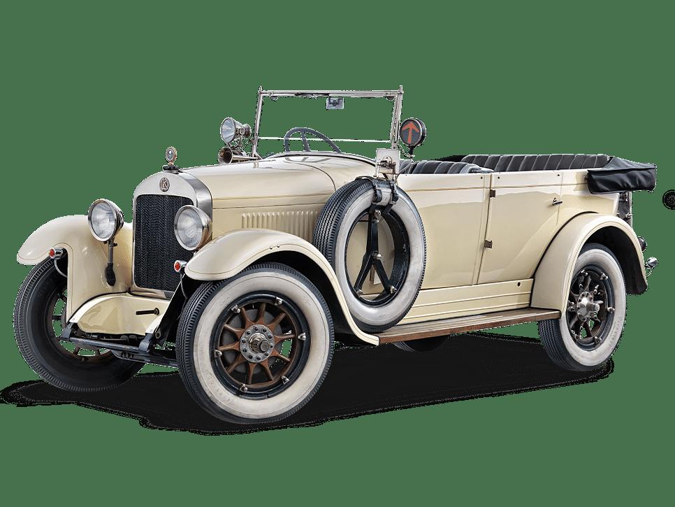 1926 Skoda 110 soft-top