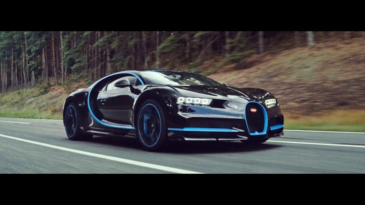 How do you film a record run for the Bugatti Chiron