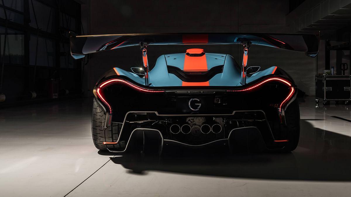 Lanzante McLaren P1 GTR-18, rear
