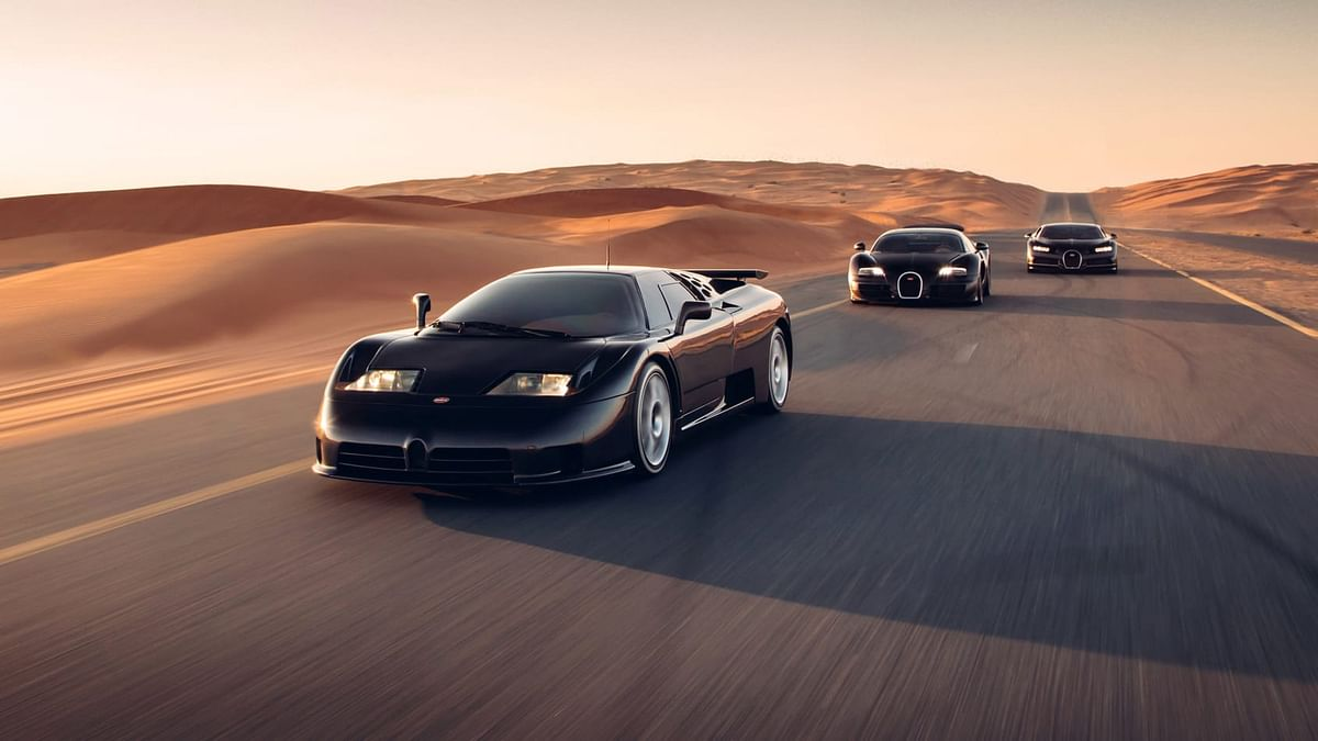Five years after the first standard car was delivered, Bugatti launched the Super Sport with even more power and aerodynamic tweaks.