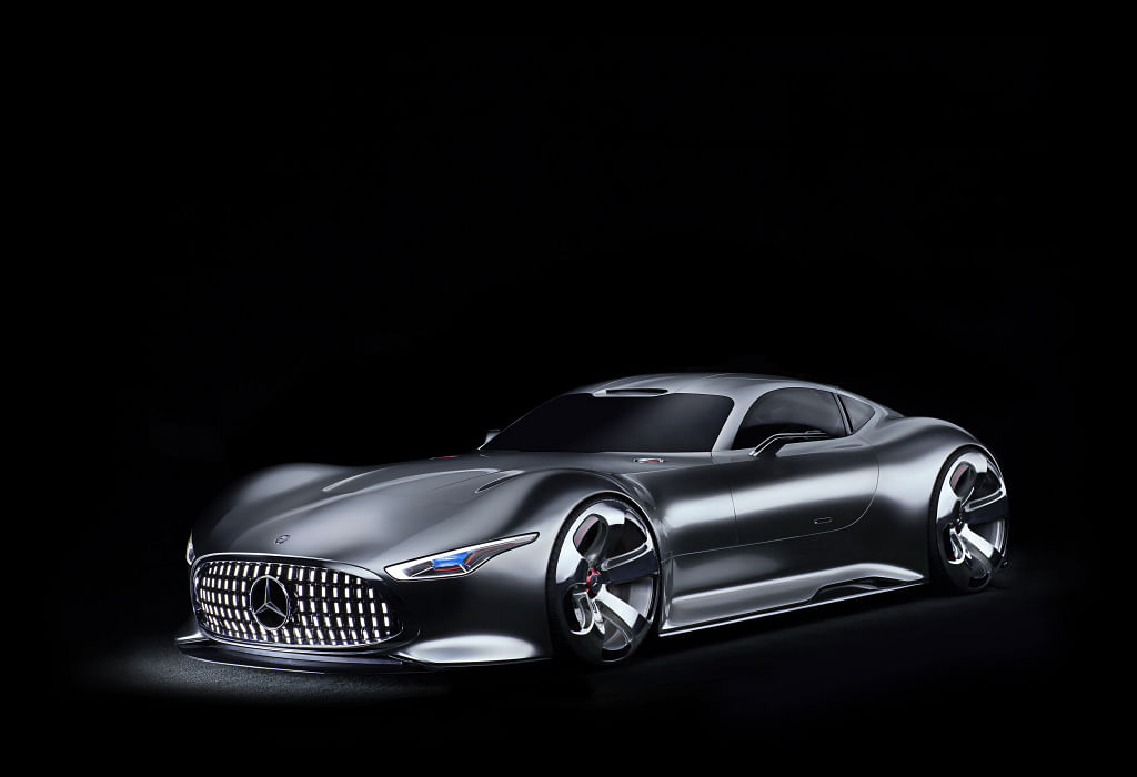 The Mercedes Vision GT sported the panamericana grille a while before AMG cars of today got them