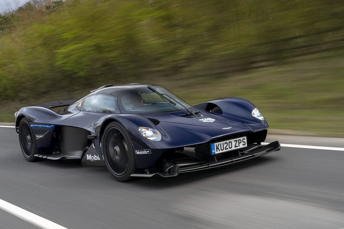 The Aston Martin Valkyrie has already hit the roads!