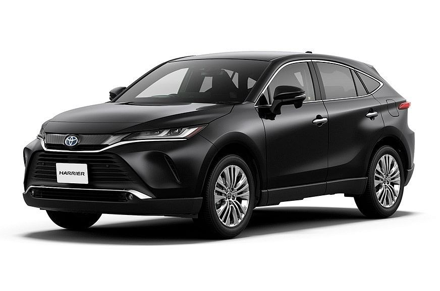 Toyota Harrier unveiled globally