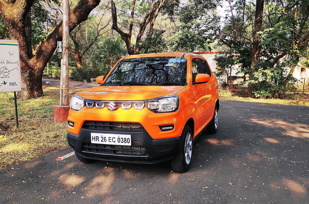 Design and styling are not the USPs of the Maruti Suzuki S-Presso
