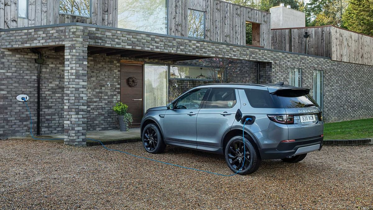 The plug-in hybrid variant for Discovery Sport.