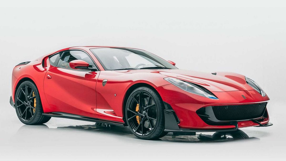 Ferrari 812 Superfast gets a subtle makeover by Mansory