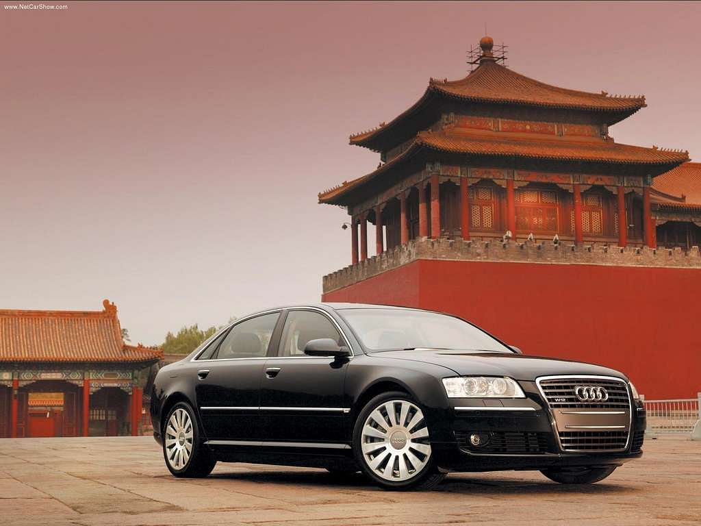 Second Generation of Audi A8 - D3 - Typ 4E