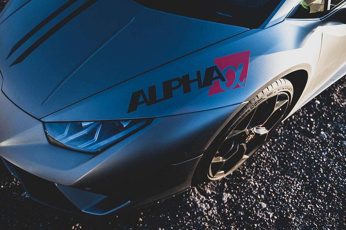 AMS_Alpha_Huracan_Alpha Logo