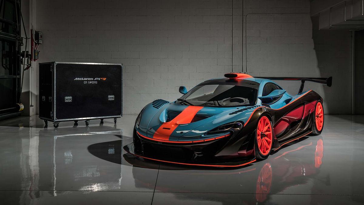 Lanzante McLaren P1 GTR-18, kit packaged