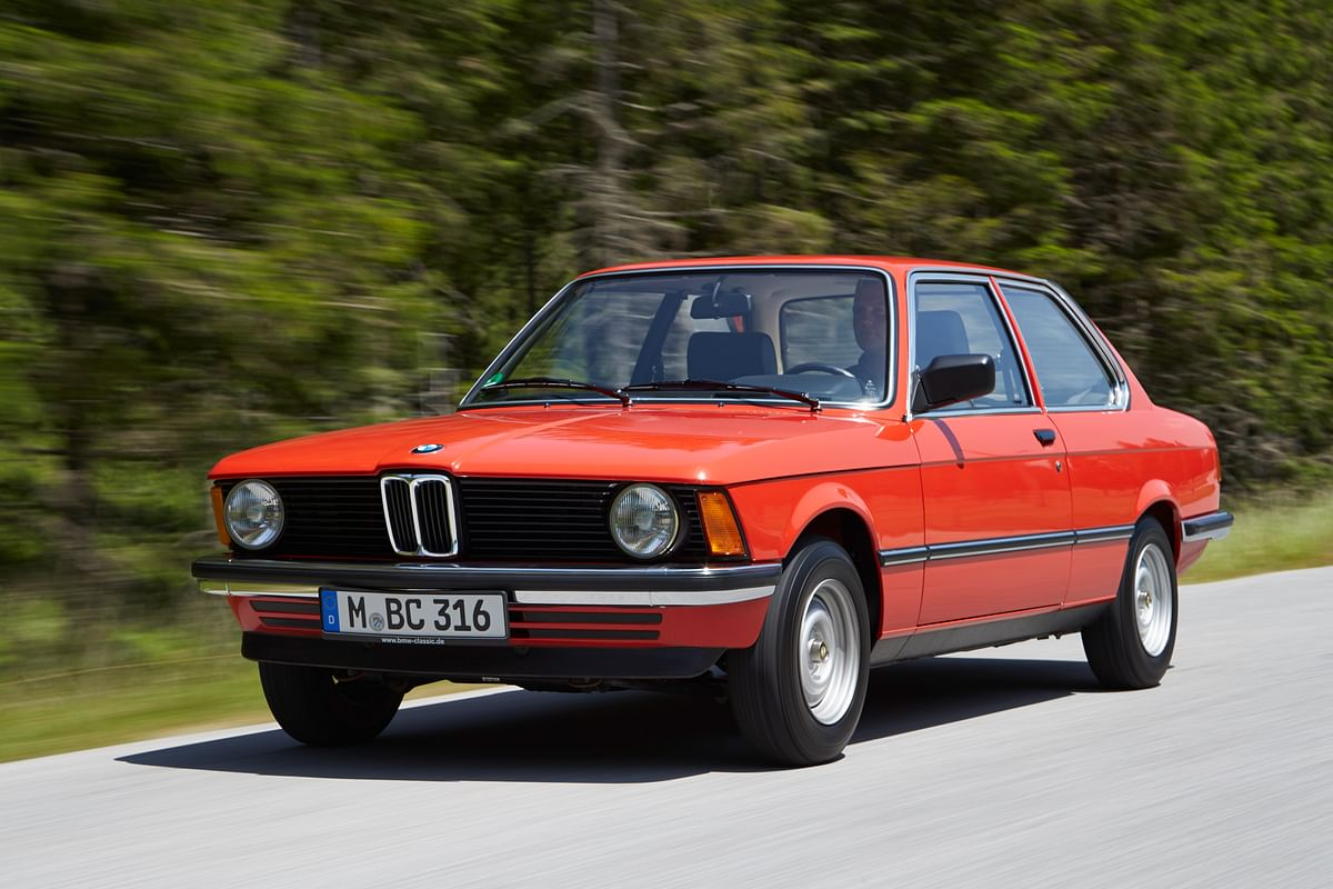 It all began with this, the E21, paving way for an iconic series in the forthcoming years
