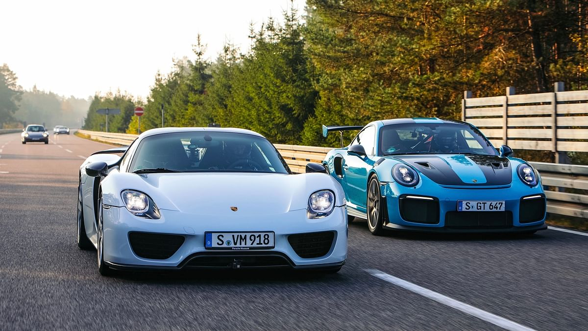 Today's supercars versus yesterday's hypercars: how far has the bar been pushed?