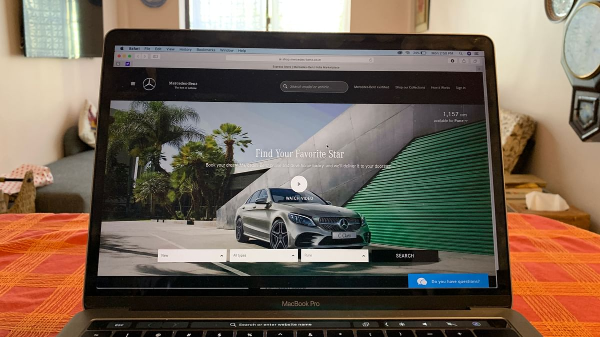 You can now buy a Mercedes-Benz without leaving the house!