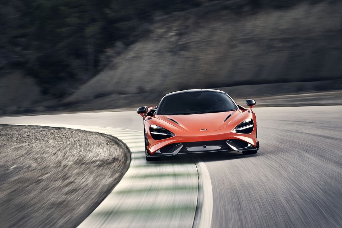 The 765LT is properly fast