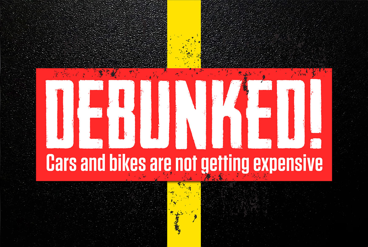 Debunked! Cars and bikes are not more expensive than they were ten years ago