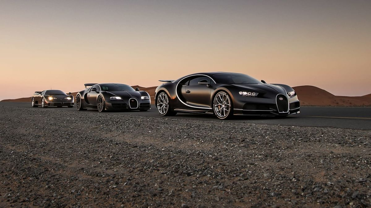 Bugatti was titled as the world's fastest product car hitting the mark of 400+kmph.