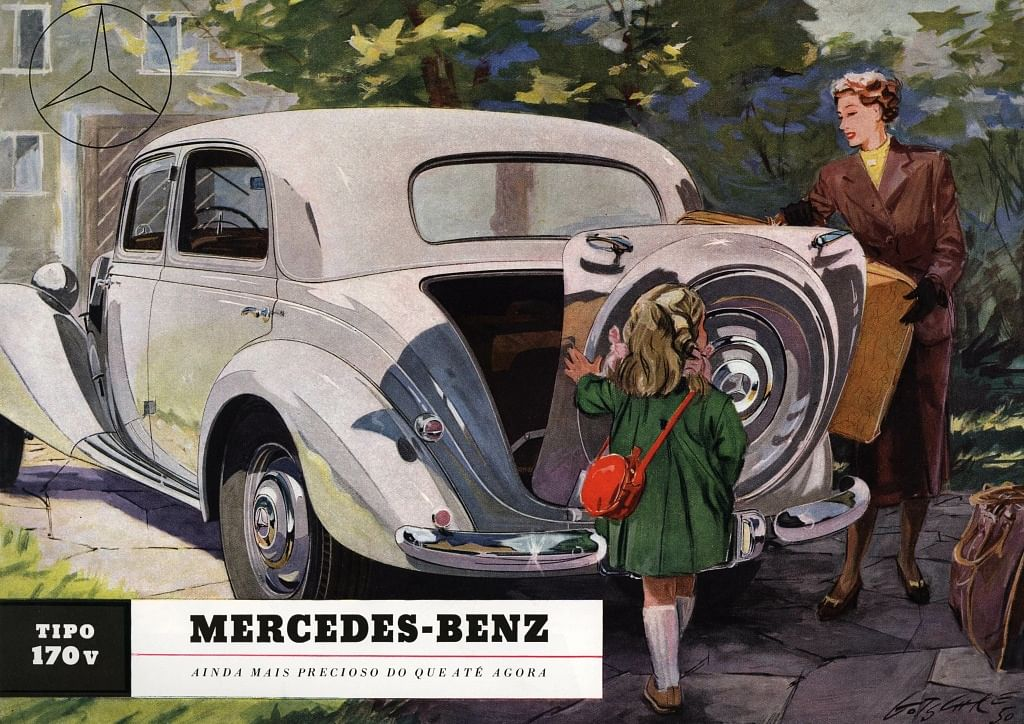 Even though Daimler AG was popular in the pre-war era, it's only after WW2 when it's popularity grew immensely