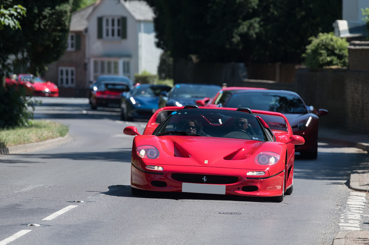 The Ferrari F50: Ahead of its time?