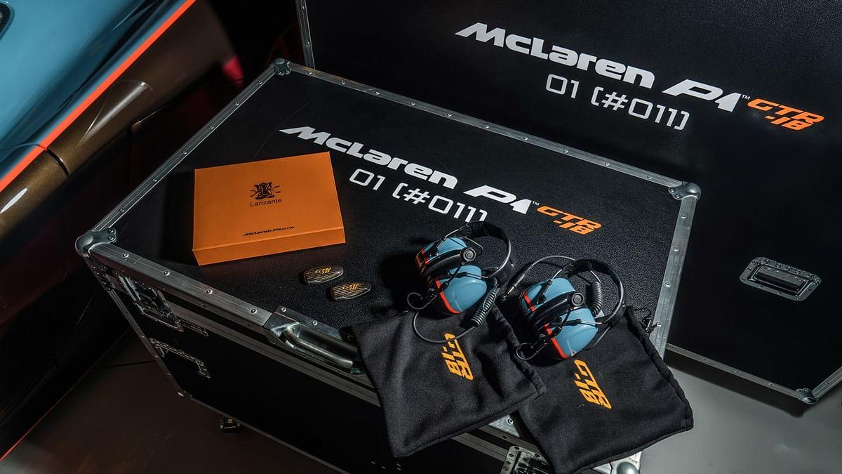 Lanzante McLaren P1 GTR-18, kit close-up