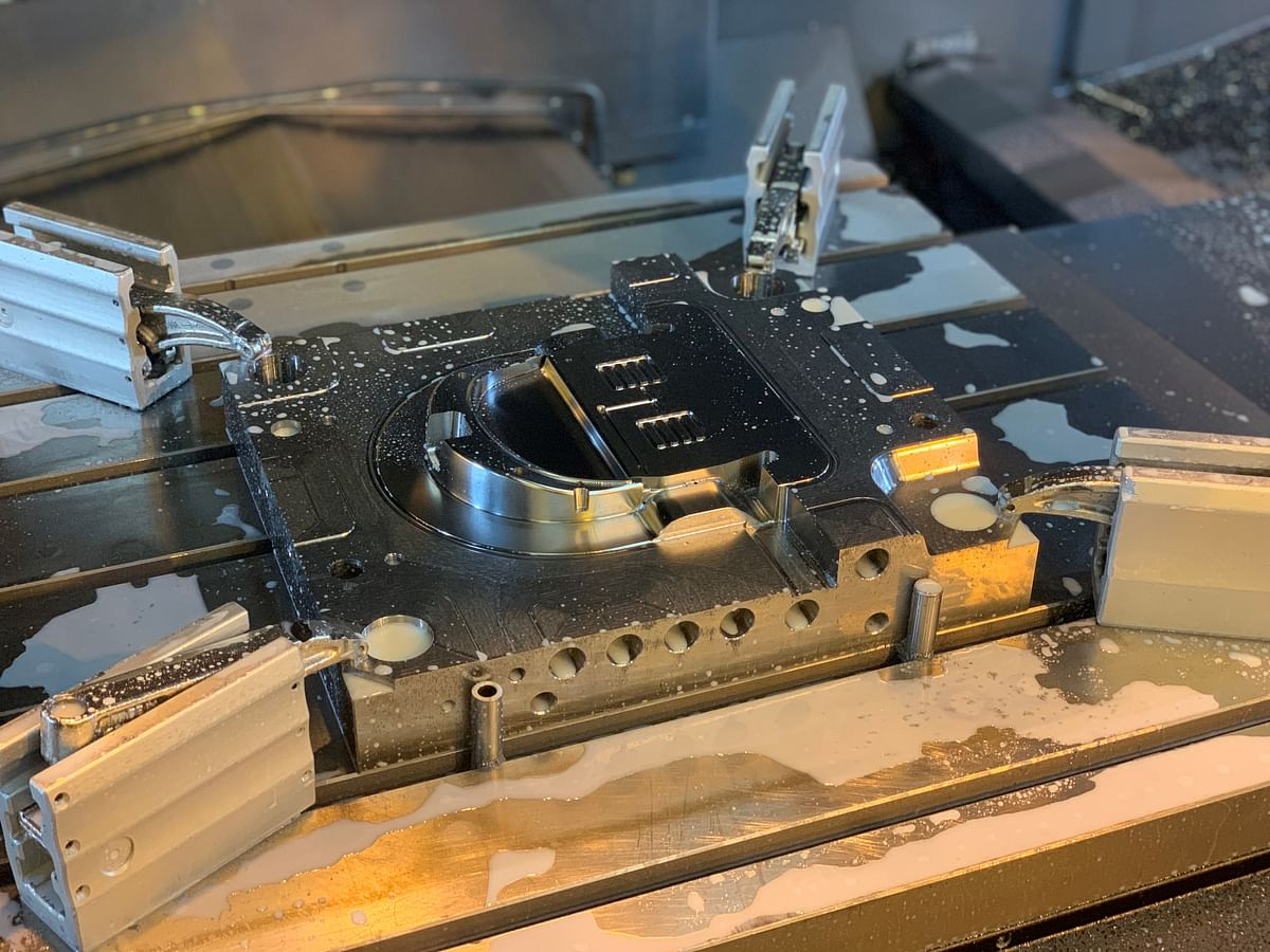 Using injection mould tooling supplied by the operation will produce in excess of 2000 per day