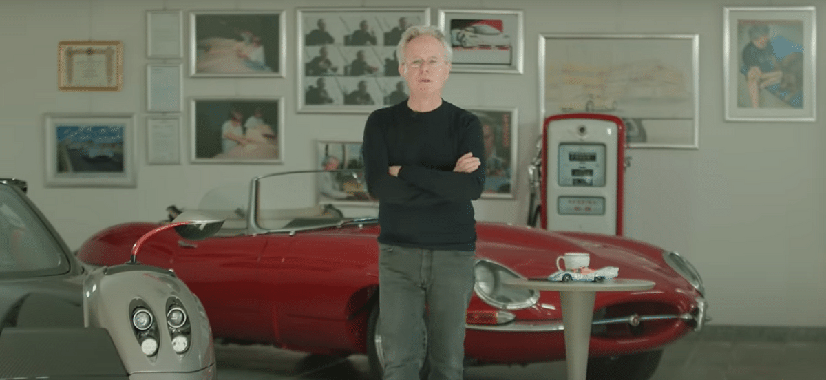Horacio Pagani gives us a tour of his personal collection of cars