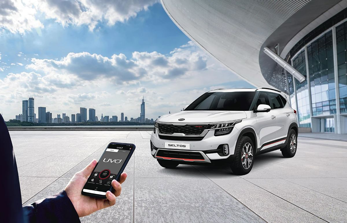 Sit home and control the features of your car via connected car technology
