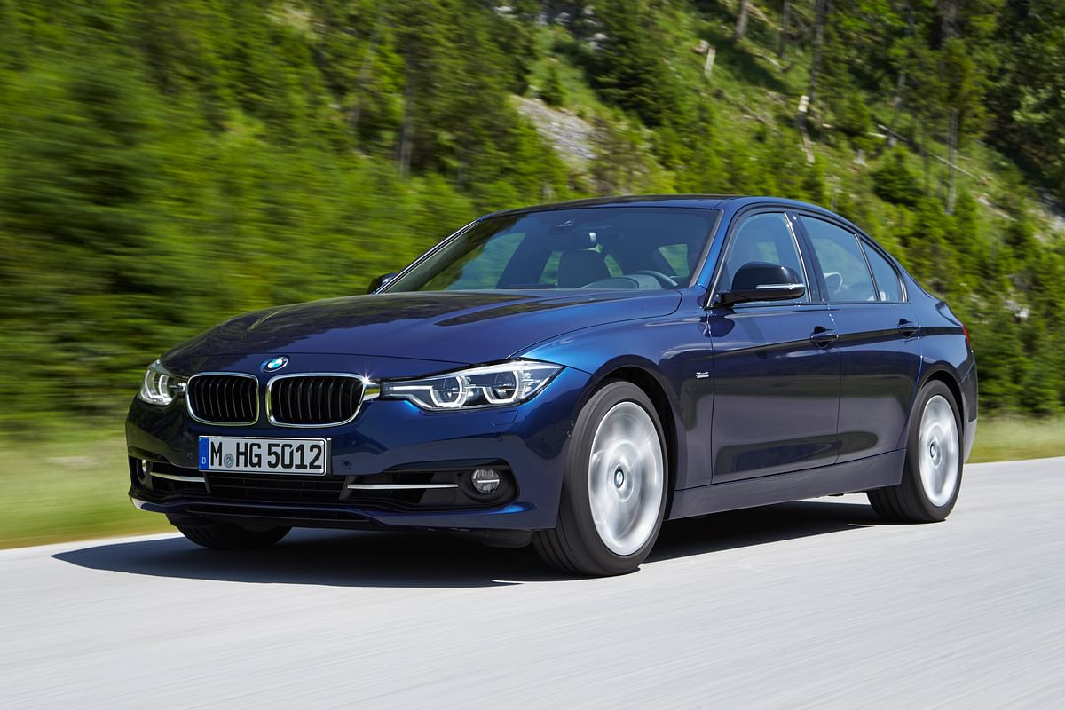 Sixth generation 3 Series borrowed design cues from its bigger siblings